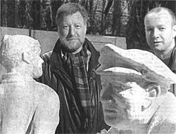 Die Brüder Hans-Christian und Anders Petersen